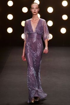 Naeem Khan, Fall 2014, New York