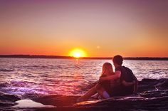watch the sunset with him <3