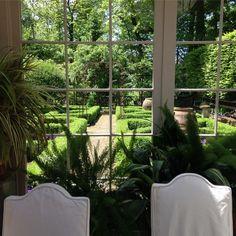 Stunning dining room views.