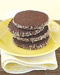Chocolate-Black Pepper Cookies Recipe