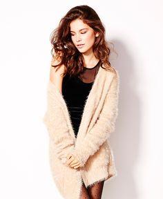 Fluffy Sweater Overpiece. #hotforholiday