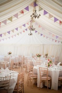 Like this marquee, with sides pulled up on the sides