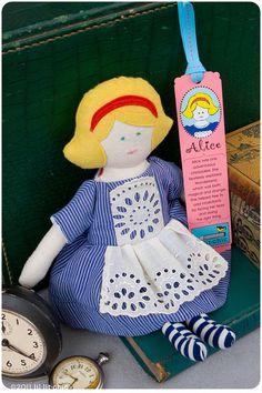 Alice in Wonderland doll.