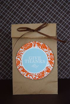Fall gift tags- Free Printable