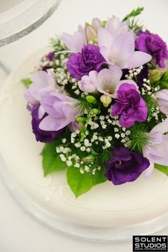 Love Purple & Pretty Flowers. :)