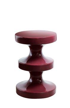 prune India mahdavi side table stool #round