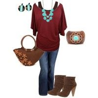 fun fall plus size outfit -  #plus #plussize #curvy