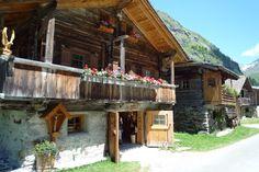 Spend your vacation in an Alpine chalet in Innergschloess, East Tirol, Austria #austria #easttirol #chalets #nature #mountains #summer