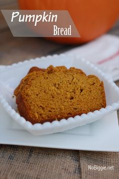 Pumpkin bread recipe.. mmm