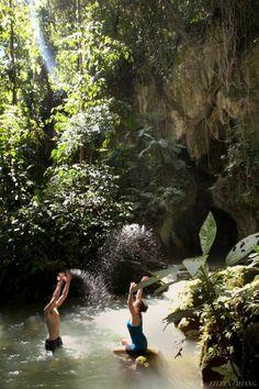 Exploring ATM Cave with Ka'ana Resort, Belize