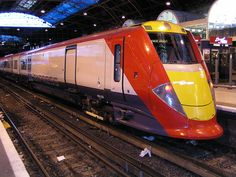 The Gatwick Express at Victoria Station, London (source Wikipedia)