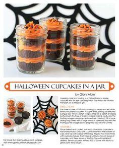 Cupcakes in a jar recipe