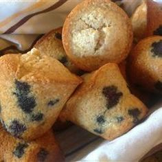 "Gluten Free Blueberry Muffins | ""Delicious! Everyone loved them! My brother in law is now gluten free so finding stuff that I can bake for him was a challenge and this turned out to be fairly easy! It was closer to 30 minutes baking time for where I live, but other than that it turned out great!"" -BMeeks"
