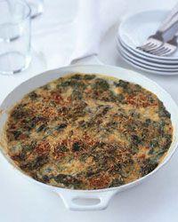 Creamy Spinach with Smoked Gouda Gratin