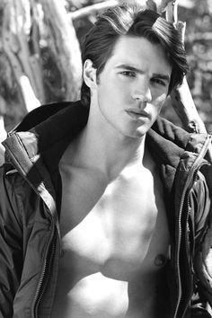 """Steven R. McQueen in Abercrombie & Fitch's Spring 2014 """"Making of a Star"""" campaign."""