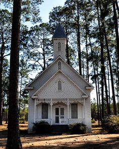 Cute Little Church in Ruskin Georgia.