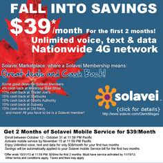 Fall into savings!  http://www.solavei.com/GlennMagas