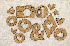 Miscellaneous Cork Bits from Elle's Studio