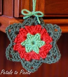 Petals to Picots: Granny Star Pattern