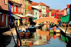 Burano, Italy.