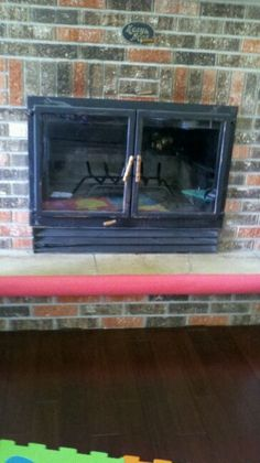 Baby Proofing Diy Cut A Pool Noodle Down One Side And Slip Over Fireplace Stone Hearth