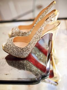 this shoe will ideally go with whatever dress you or something like it...gold or silver...