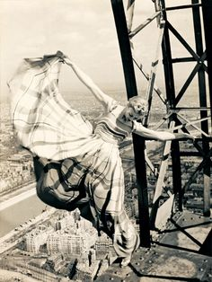 dancing on the Eiffel Tower, 1939
