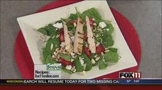 Strawberry Fields #recipe from WLUK FOX 11 Good Day Wisconsin Cooking with Amy Hanten. #recipes #video