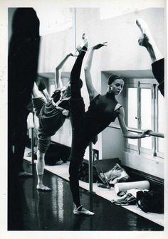 Ballet barre at its best!