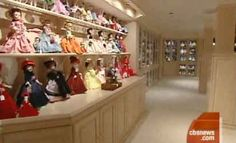Candy Spelling's doll room