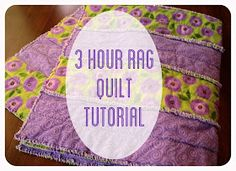 Rag Strip Quilt Tutorial