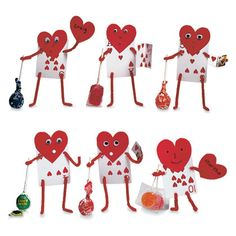 cute..made out of laying cards