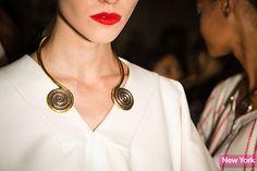 altuzarra coil necklace