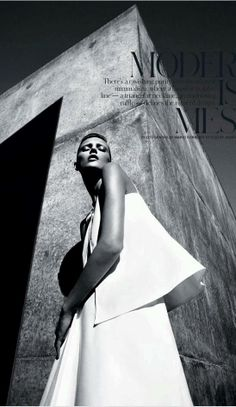 Anja Rubik by Mario Sorrenti | Fashion Photography | Fashion Editorial