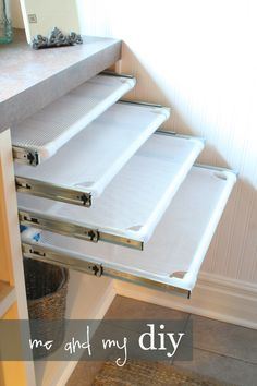 - pullout flat drying racks...