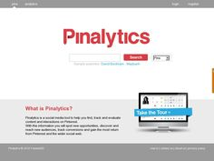 Pinalytics  is a social media tool to help you find, track and evaluate content and interactions on Pinterest.