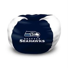 Seahawks Bean Bag Chair - Awesome addition to any Seahawks bedroom. $45.64