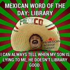 Mexican word of the day librari