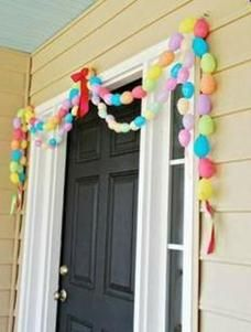 easter diy   Easter Craft Ideas- DIY Easter Decor   Family & Parenting. How cute would this be with glittered eggs