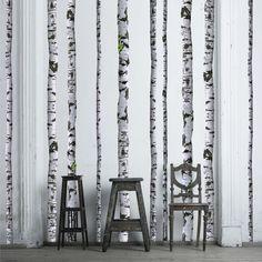 Birch Tree Decals - $88