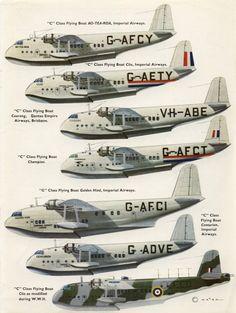 Short Flying Boats