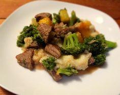 Stir Fry with Magic Sauce and Mashed Cauliflower   Phoenix Helix