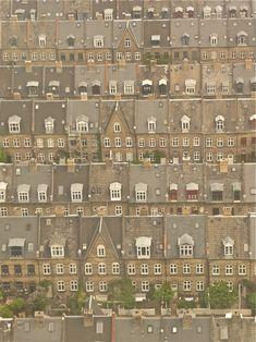 little boxes, copenhagen, houses, humlebi, pattern