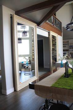 sliding mirror barn doors