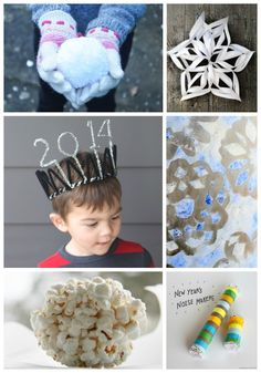 Family Friendly New Years Fun -- great ideas for that last week of winter break too!