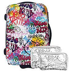 Hello Kitty - HK Grafitti Suitcase $350