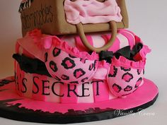 OMG. I NEED this for my bachelorette party or as a bridal shower cake!