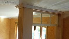DIY Transom Window -