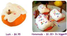 Lush Gingerbread DIY