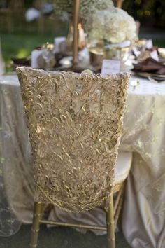 chair cover #wedding #decor
